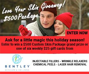 Bentley Skincare Wellness Contest