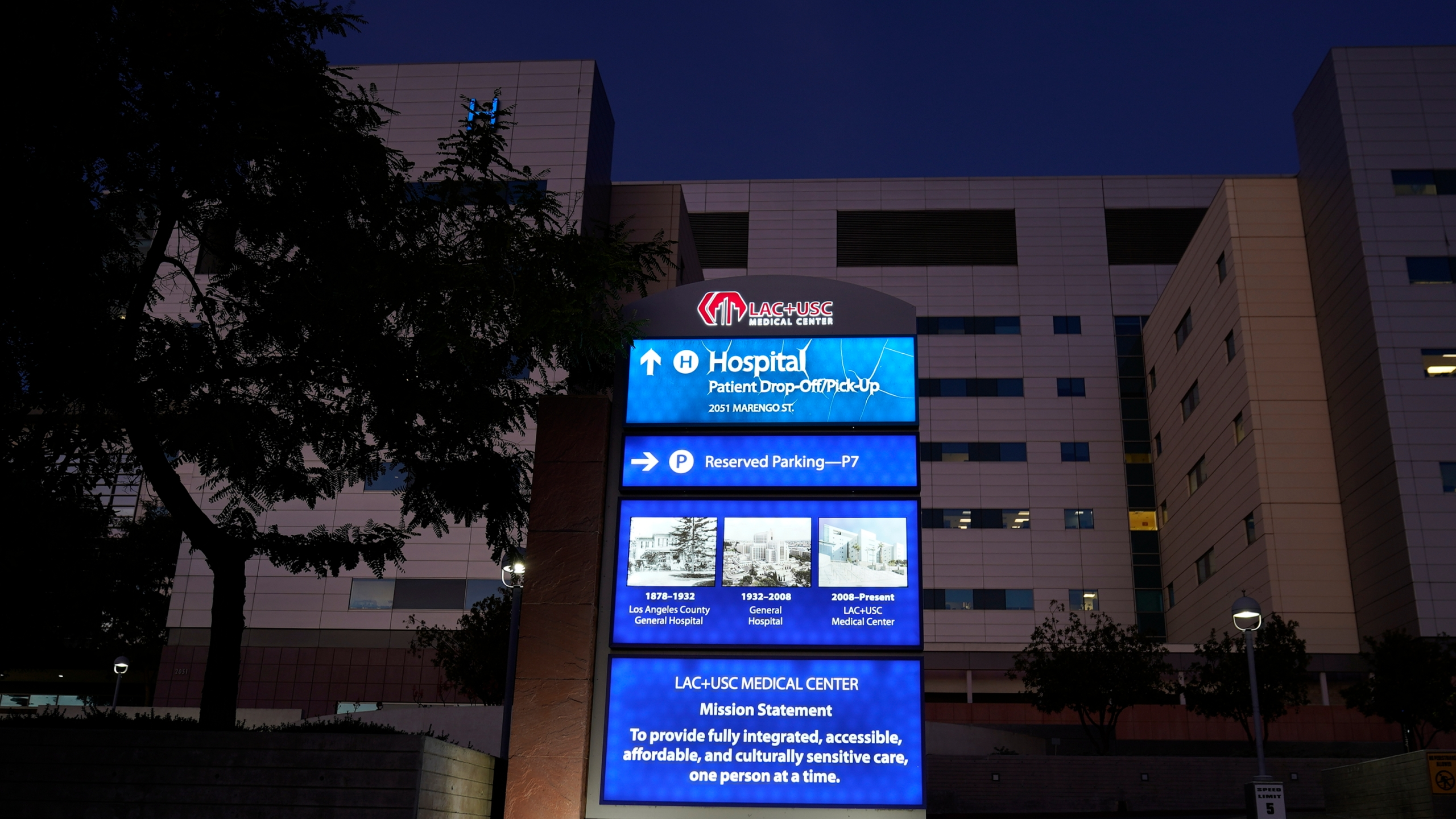 Los Angeles County+USC Medical Center, LAC+USC Medical Center