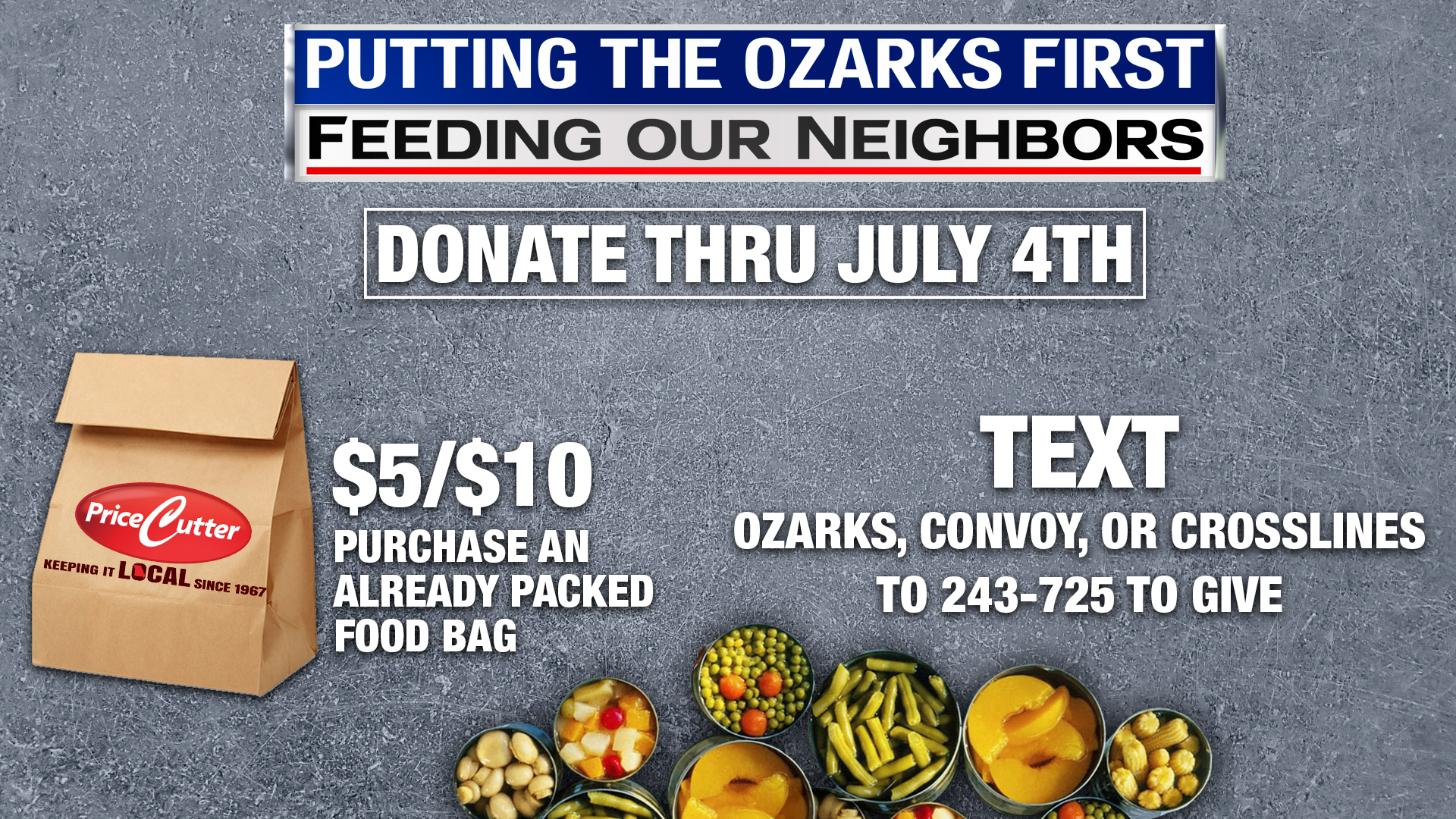 Putting the OzarksFirst text to give info