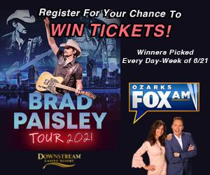 Downstream Casino Brad Paisley