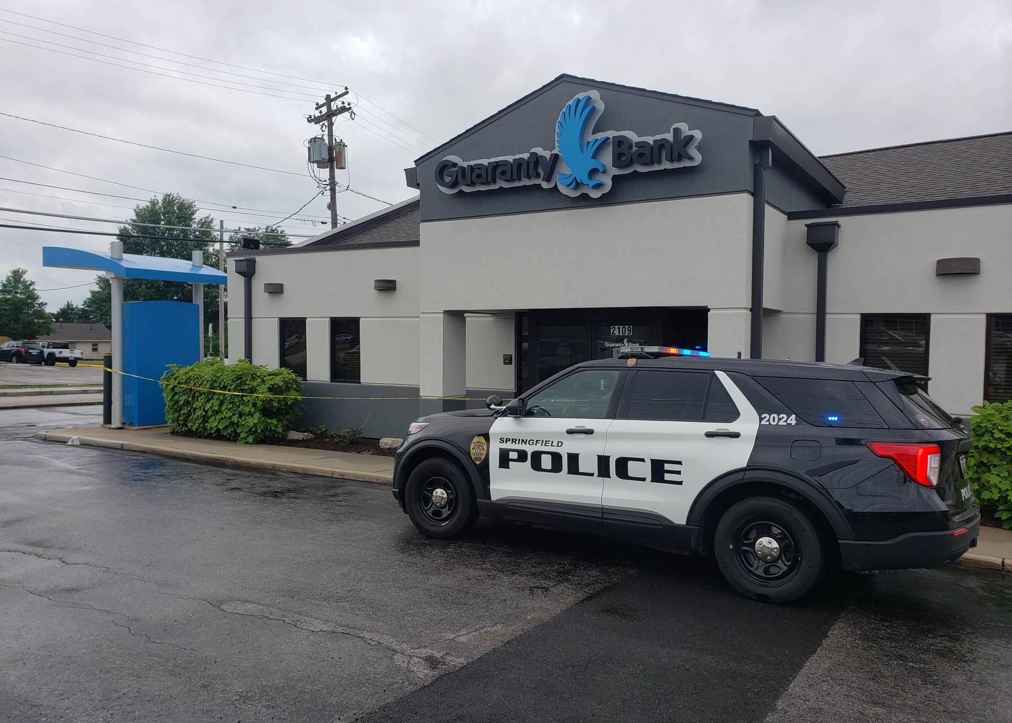 Guaranty Bank robbery Springfield