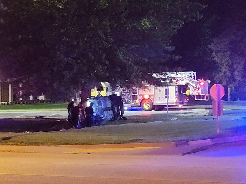 Springfield fatal car crash Evangel
