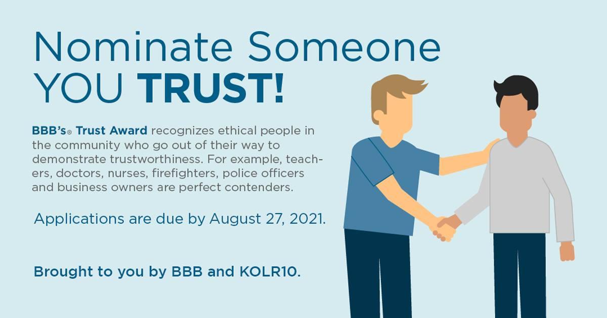Better Business Bureau Trust Award