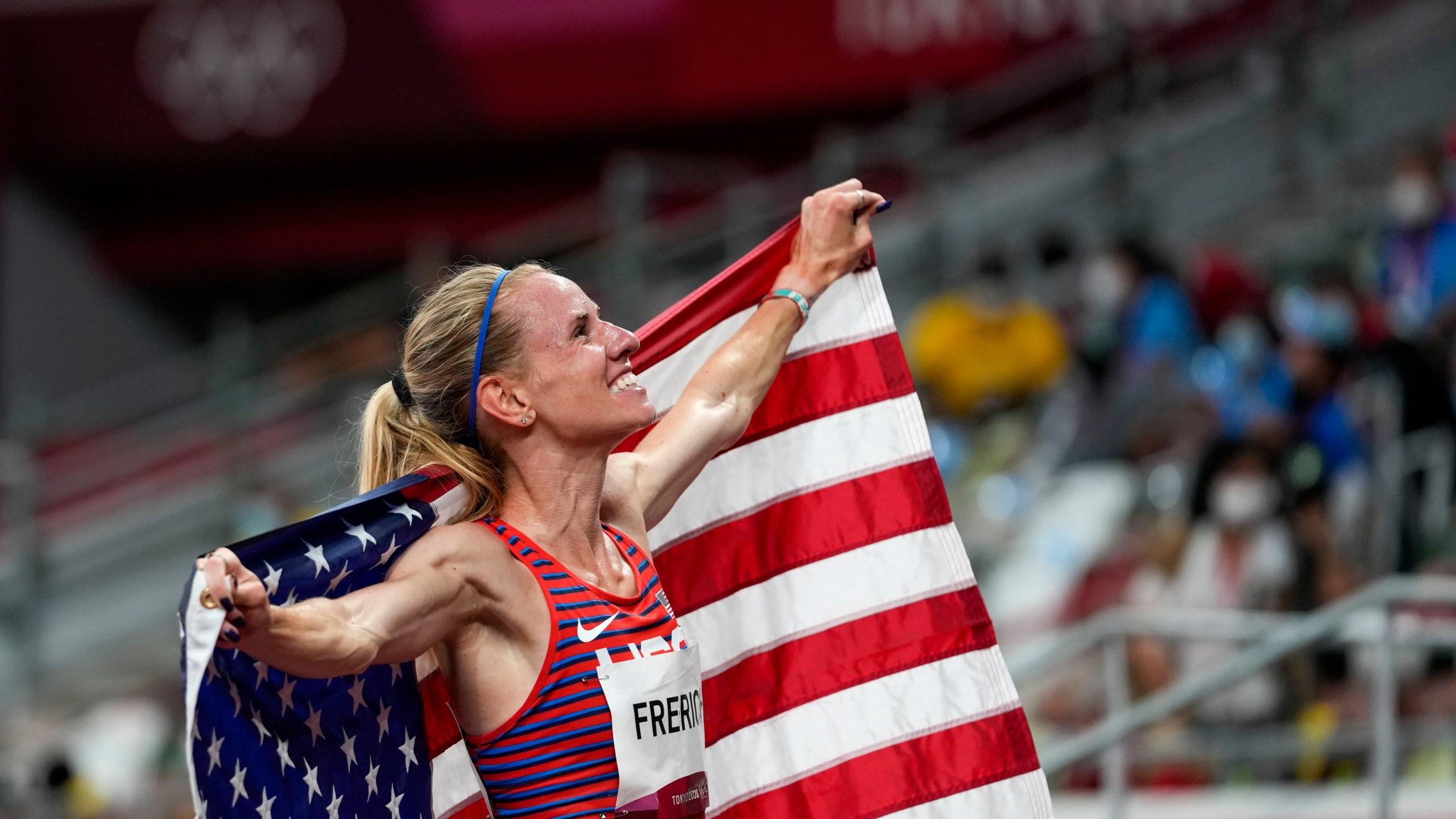 Courtney Frerichs Nixa Olympics silver medal