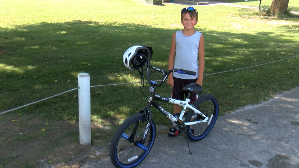Buffalo, Missouri boy gets new bicycle