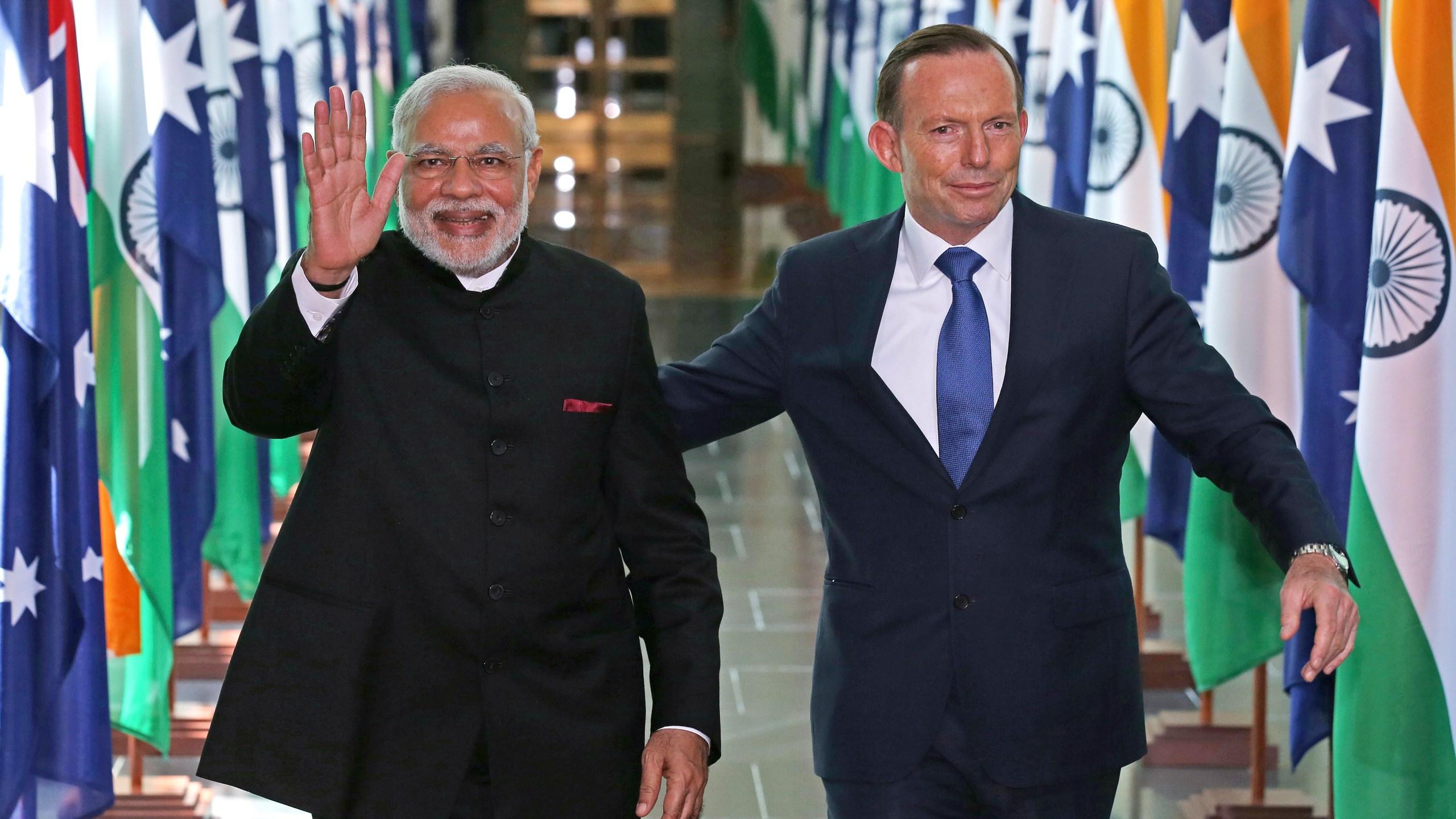 Narendra Modi, Tony Abbott